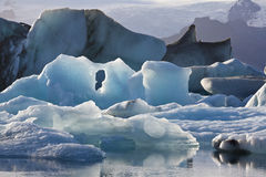 Jokulsarlon in Iceland Stock Photo