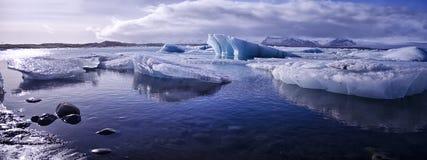 Jokulsarlon, Iceland. Landscape shot of the icebergs at Jokulsarlon, Iceland Stock Images