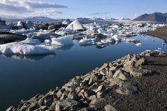 Jokulsarlon in IJsland Stock Afbeelding