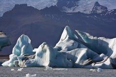 Jokulsarlon in IJsland Stock Afbeeldingen