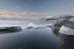 Jokulsarlon, IJsland Royalty-vrije Stock Afbeeldingen