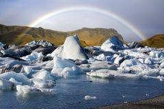 Jokulsarlon Ijzige Lagune - IJsland Stock Fotografie
