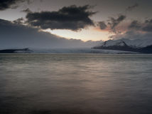 Jokulsarlon, Islande Photographie stock