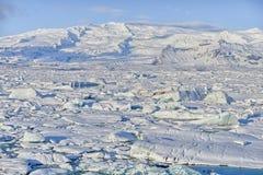 Jokulsarlon, Islandia Fotos de archivo libres de regalías