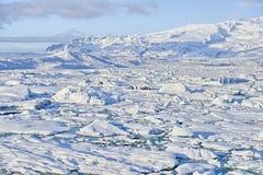 Jokulsarlon, Islandia Imagenes de archivo