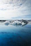 Jokulsarlon Lagoon. Icebergs melting at deep blue Jokulsarlon Lagoon, Iceland Royalty Free Stock Photography