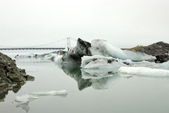 Jokulsarlon lagoon. Royalty Free Stock Photography