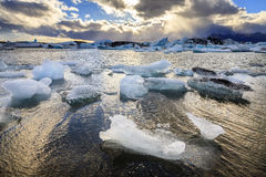 Jokulsarlon Lagoon Stock Photography