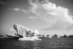 Jokulsarlon Lagoon Royalty Free Stock Photography