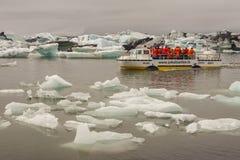 Jokulsarlon lagoon - Iceland. Stock Photos