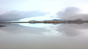 Jokulsarlon lagoon in Iceland stock video footage