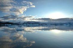 Jokulsarlon Lagoon Iceland, Europe. Stock Image