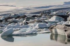 Jokulsarlon lagoon - Iceland. Stock Images