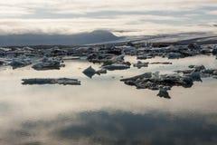 Jokulsarlon lagoon - Iceland. Royalty Free Stock Photography