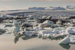 Jokulsarlon lagoon - Iceland. Royalty Free Stock Image
