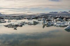 Jokulsarlon lagoon - Iceland. Royalty Free Stock Images