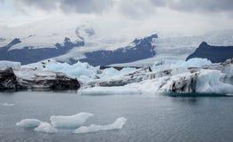 Jokulsarlon lagoon, Iceland Royalty Free Stock Images