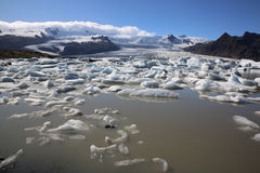 Jokulsarlon Lagoon. Iceland royalty free stock photo