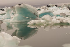 Jokulsarlon lagoon - Iceland. Glacier lake. Summer Royalty Free Stock Photo