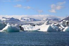Jokulsarlon Lagoon, Iceland Stock Image