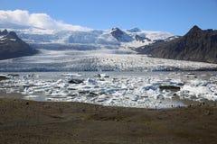 Jokulsarlon lagun iceland royaltyfri bild