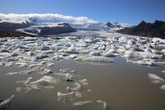 Jokulsarlon lagun iceland royaltyfri foto