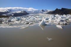 Jokulsarlon lagun iceland fotografering för bildbyråer