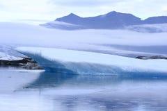 The Jokulsarlon lake Royalty Free Stock Images