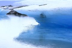 The Jokulsarlon lake Royalty Free Stock Image
