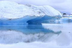 The Jokulsarlon lake Stock Images