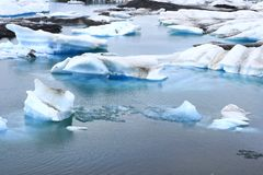 The Jokulsarlon lake Royalty Free Stock Photography