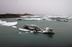Jokulsarlon Lake. Jokulsarlon, the famous glacial lake in Iceland stock images