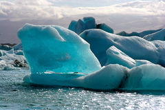 Jokulsarlon lake Royalty Free Stock Photography