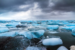 Jokulsarlon lake Stock Photo