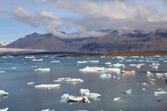 Jokulsarlon lake Royalty Free Stock Photo