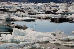 Jokulsarlon lake - Iceland. Royalty Free Stock Image