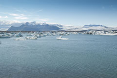 Jokulsarlon Lake (Iceland) Stock Images