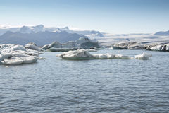 Jokulsarlon Lake (Iceland) Royalty Free Stock Images