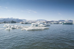 Jokulsarlon Lake (Iceland) Stock Photo