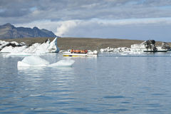 Jokulsarlon Lake (Iceland) Royalty Free Stock Photo
