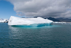 Jokulsarlon lake in Iceland Royalty Free Stock Photography