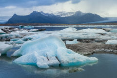 Jokulsarlon Lake, Iceland Stock Photos
