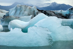 Jokulsarlon Lake, Iceland Royalty Free Stock Photos