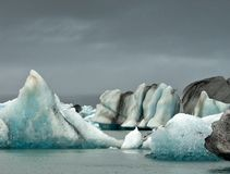 Jokulsarlon lake, Iceland I. Stock Images