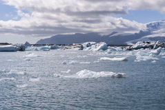 Jokulsarlon lake in Iceland Stock Photos
