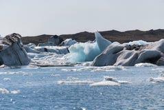 Jokulsarlon lake in Iceland Stock Images