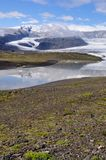 Jokulsarlon is the largest glacier in Iceland Royalty Free Stock Images