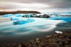 Jokulsarlon river ice Stock Photo
