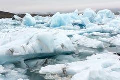 Jokursarlon, Ισλανδία Στοκ φωτογραφίες με δικαίωμα ελεύθερης χρήσης