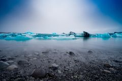 Jokursarlon lodowa laguna Zdjęcie Royalty Free